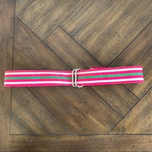 Lands' End Watermelon Stripe Belt